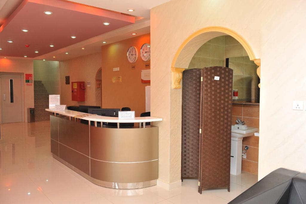O saguão ou recepção de Amasy Al Waha