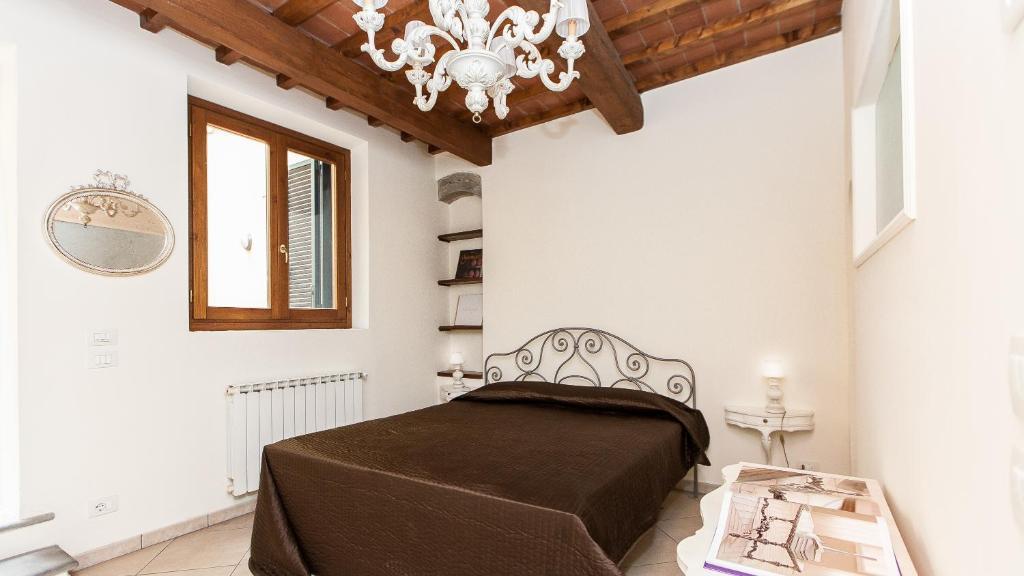 Cama o camas de una habitación en Florence Apartments - Tower