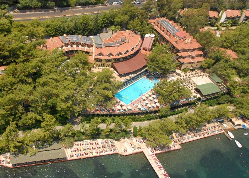 Marmaris Park Hotel с высоты птичьего полета