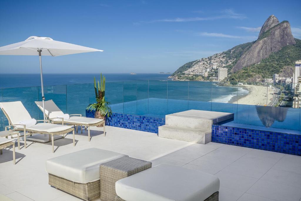 A piscina localizada em Praia Ipanema Hotel ou nos arredores