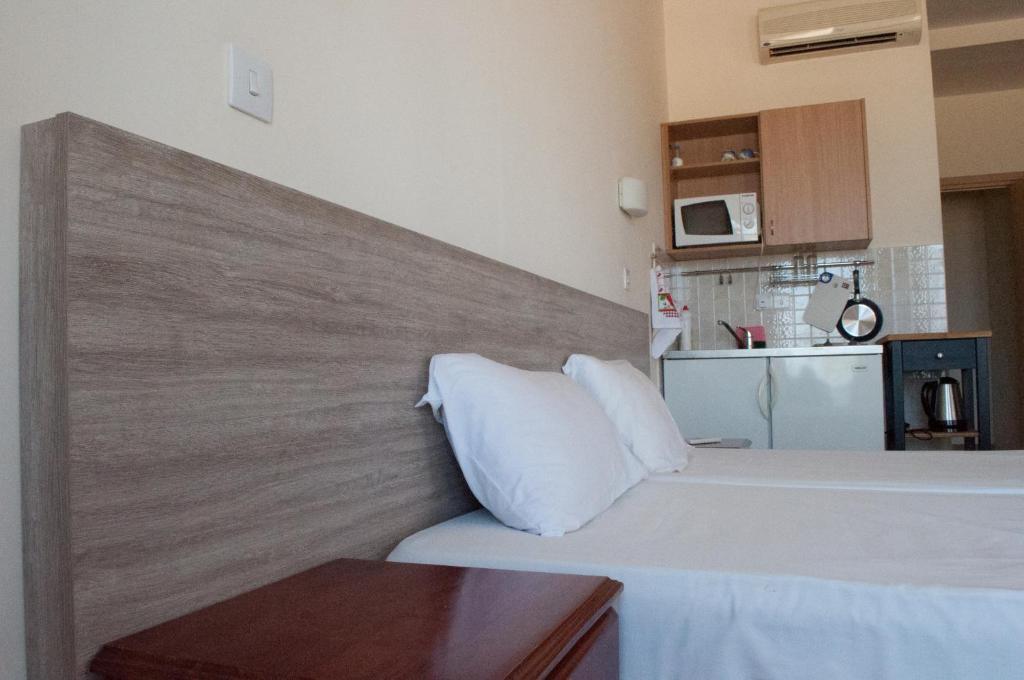 Een bed of bedden in een kamer bij Tuck Inn