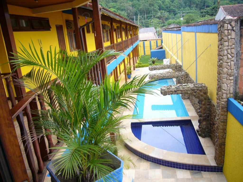 A piscina localizada em Pousada Praia D'Azul ou nos arredores