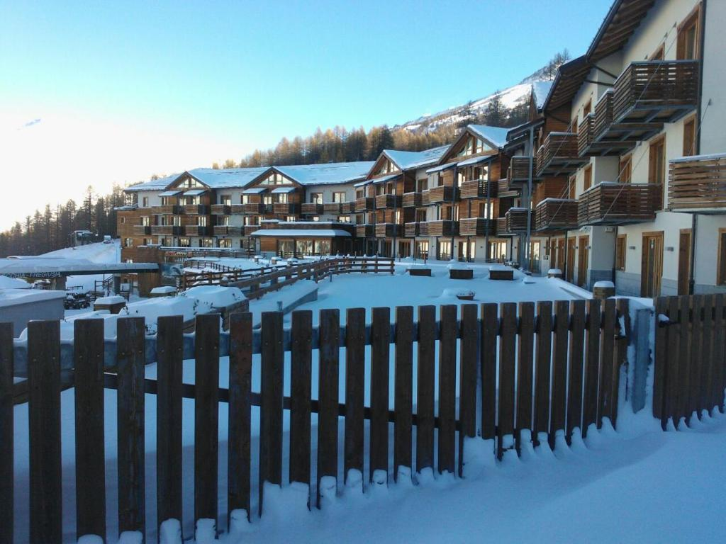 Savoia Mountain Resort during the winter