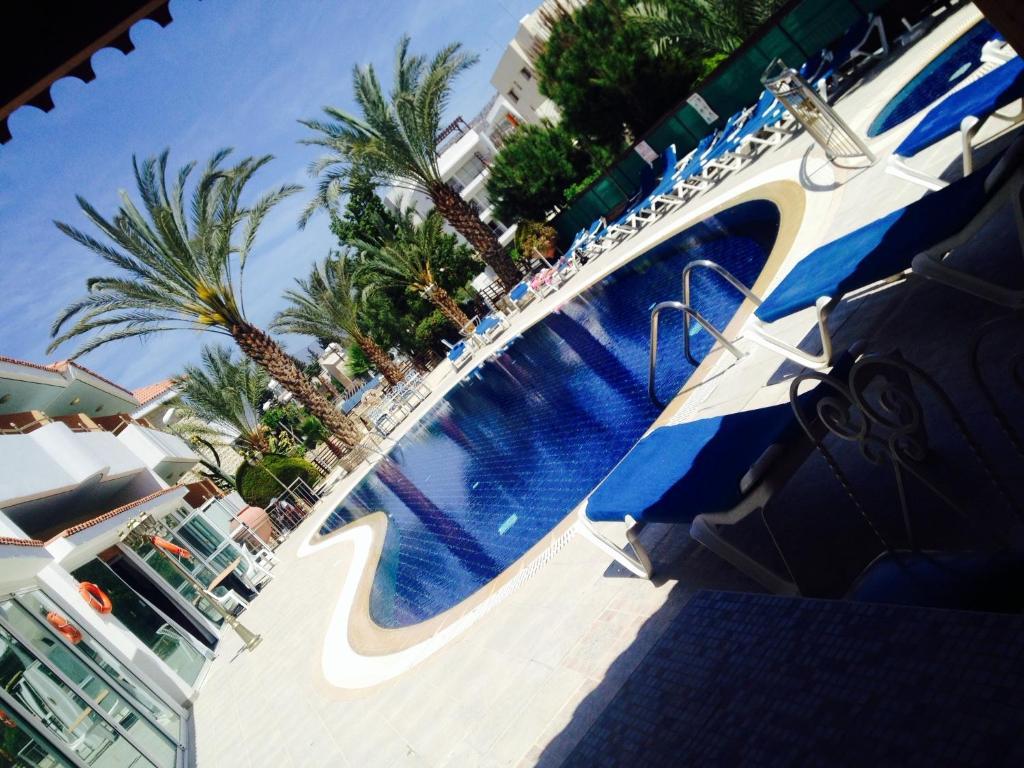 The swimming pool at or near M. Moniatis Hotel