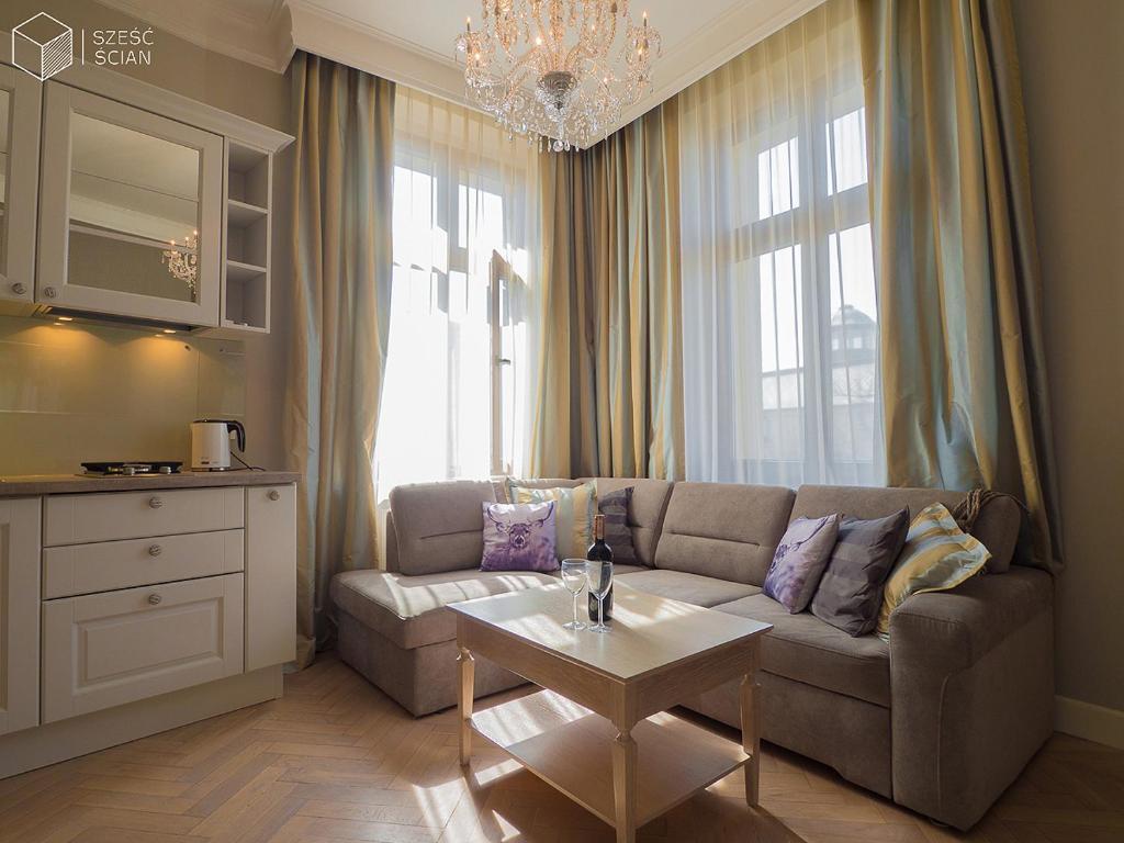 Część wypoczynkowa w obiekcie Best Apartments Św. Antoniego