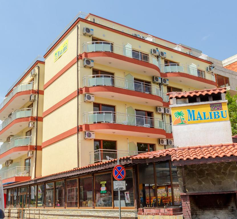 Hotel Malibu Sunny Beach, Bulgaria