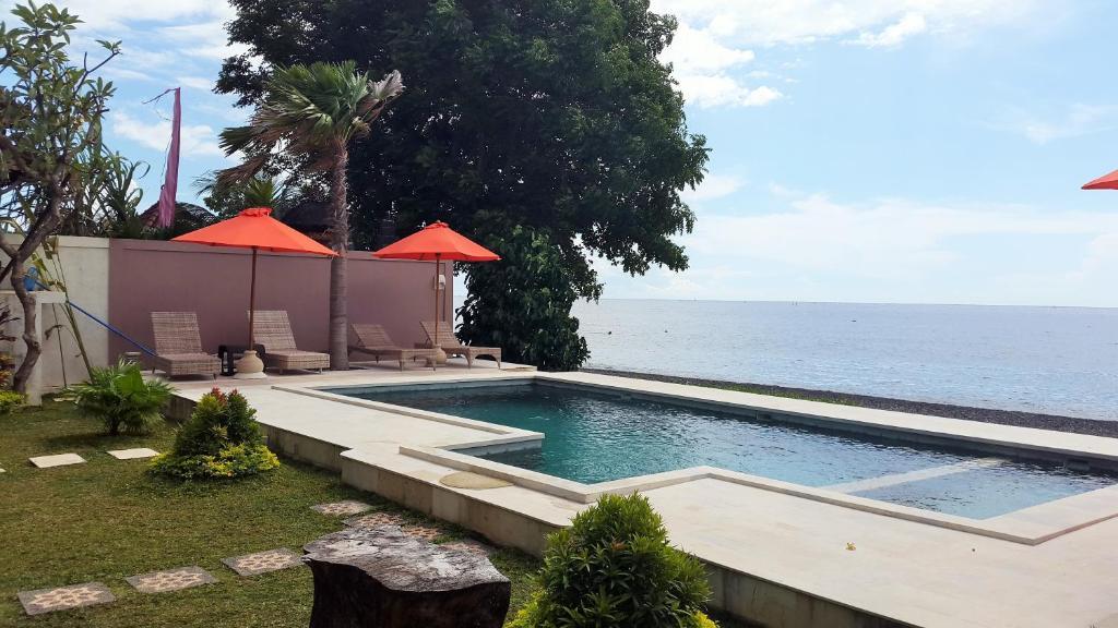 Het zwembad bij of vlak bij Casa De Amed