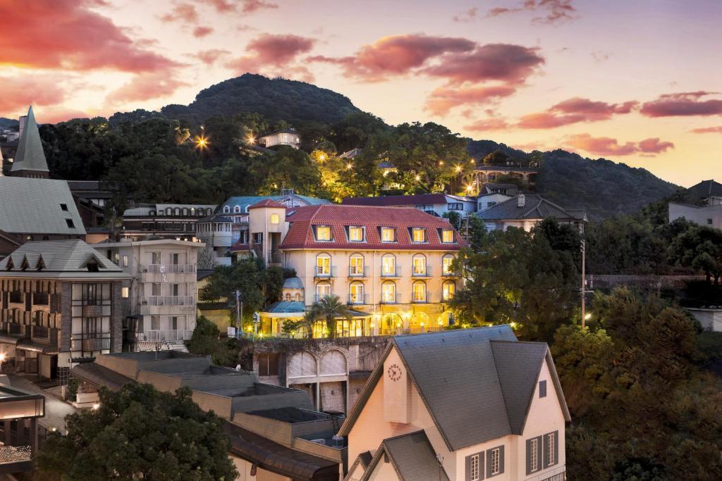 A bird's-eye view of Setre Glover's House Nagasaki