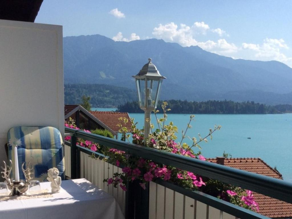 A balcony or terrace at Villa Desiree - Hotel Garni - Adults Only