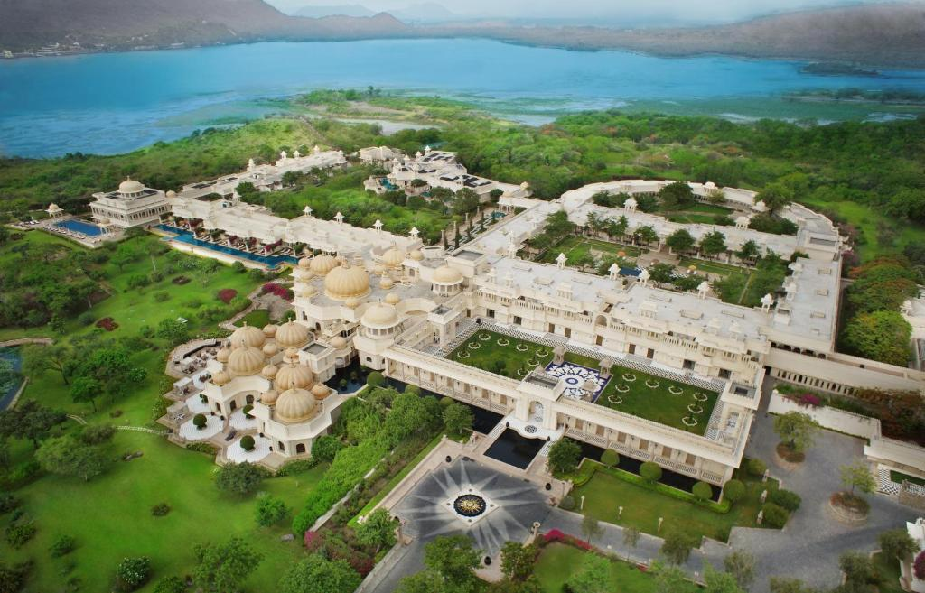 A bird's-eye view of The Oberoi Udaivilas Udaipur
