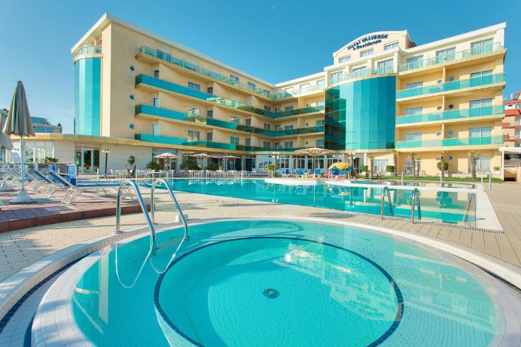 The swimming pool at or near Hotel Valverde & Residenza