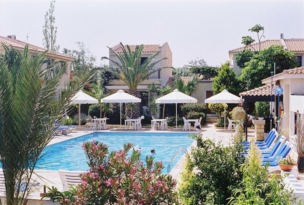 The swimming pool at or near Tavros Hotel Apartments