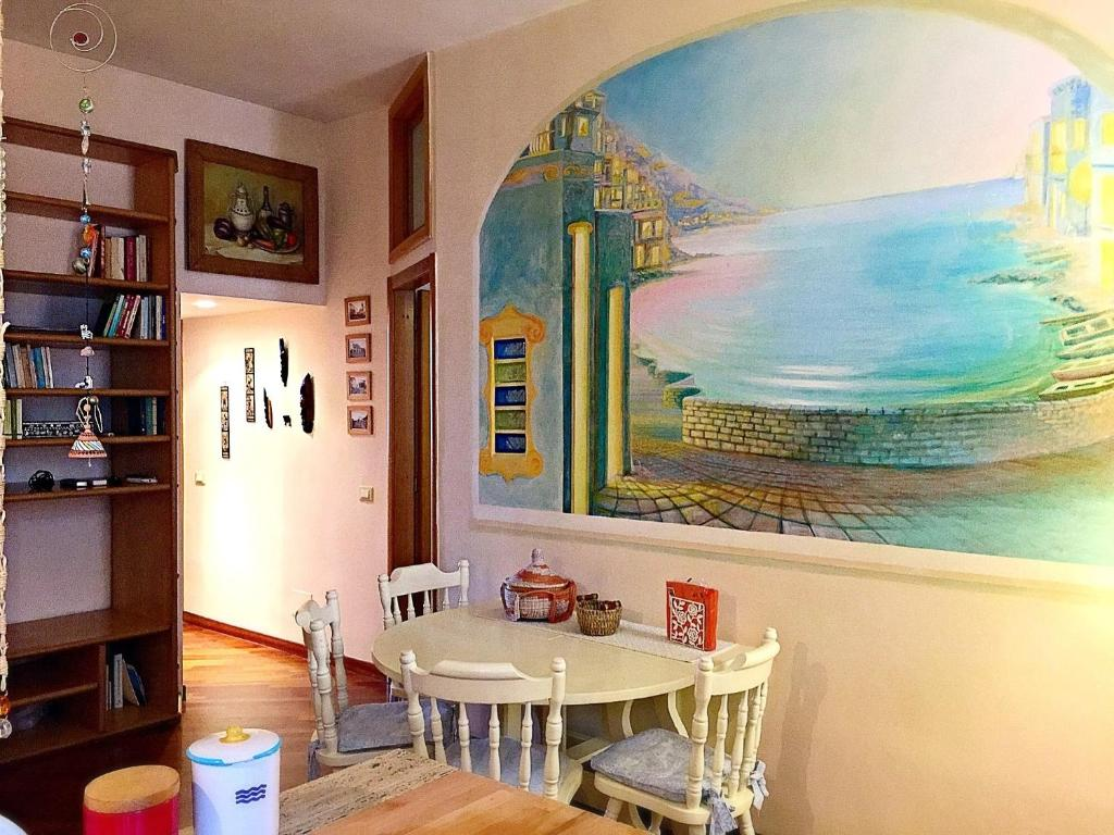 A restaurant or other place to eat at Casa Vacanze Seahorse