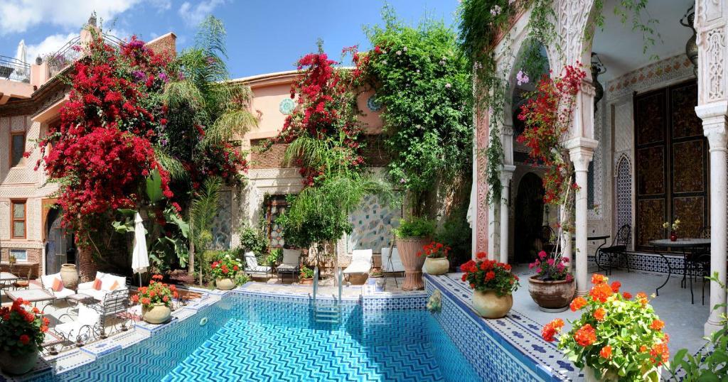 The swimming pool at or near Riad Palais Sebban