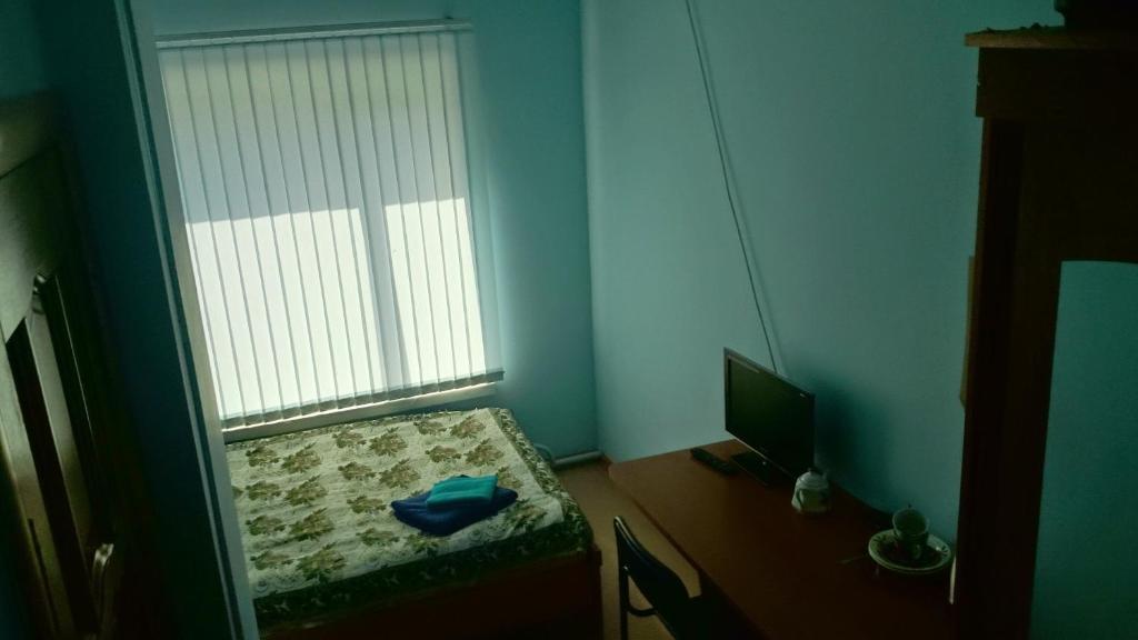 Телевизор и/или развлекательный центр в Гостиница Молодёжная