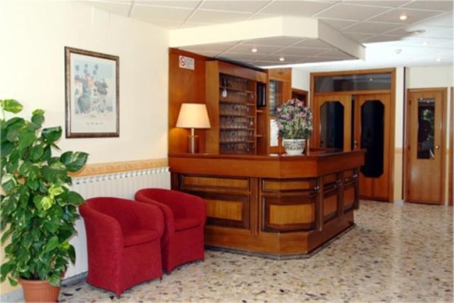 The lobby or reception area at Hotel Sud America-anche con BONUS VACANZE
