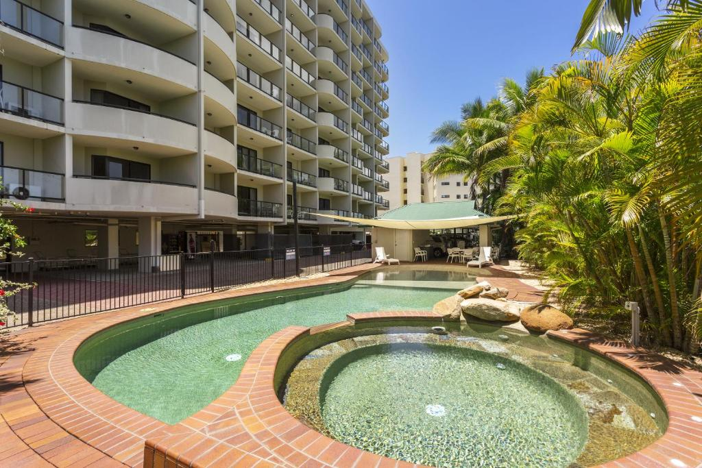 The swimming pool at or near Quest Townsville