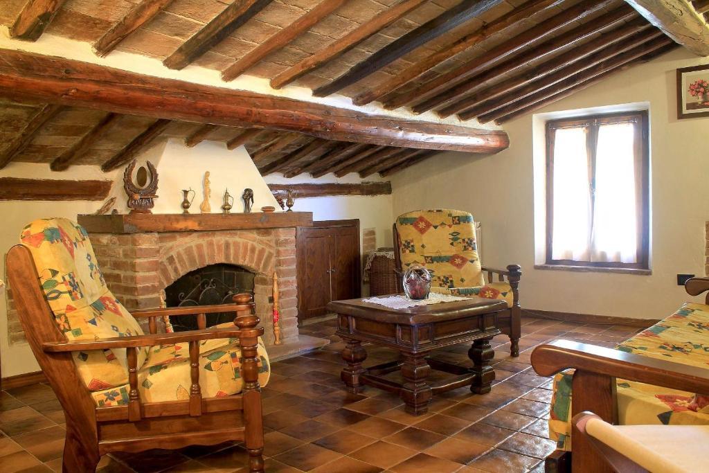 Area soggiorno di La Terrazza Di Montepulciano