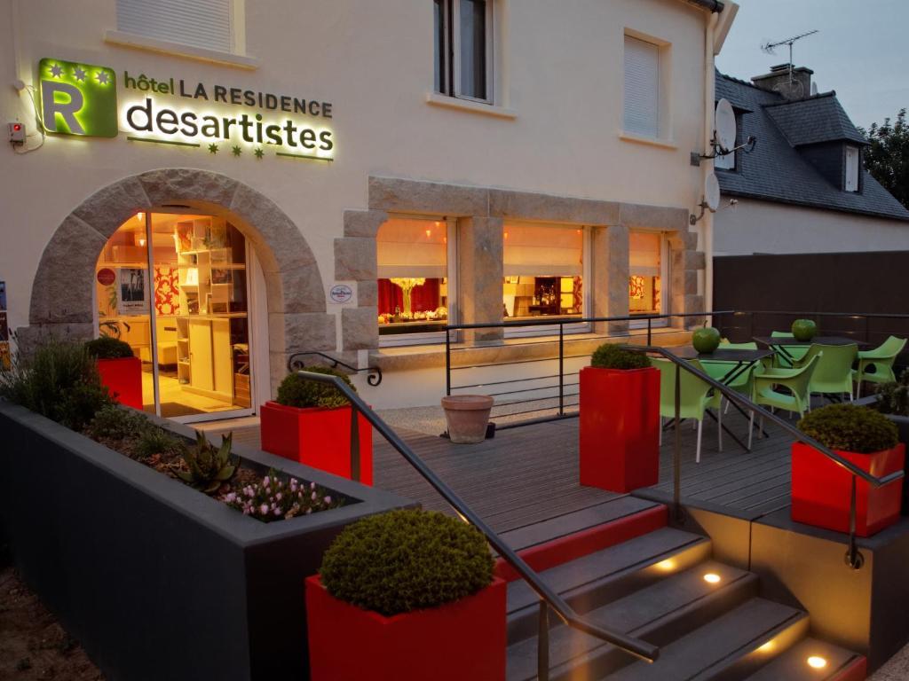 Hôtel La Résidence des Artistes - Laterooms
