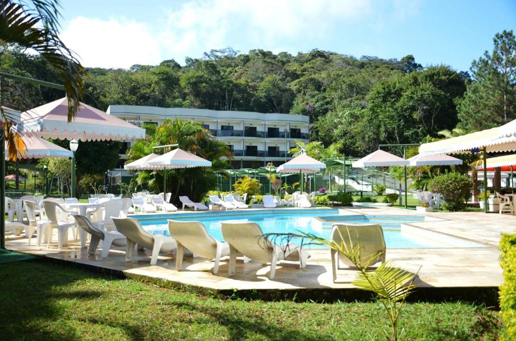 The swimming pool at or near Hotel Green Hill