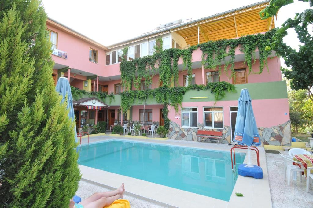 The swimming pool at or near Hotel Pamukkale