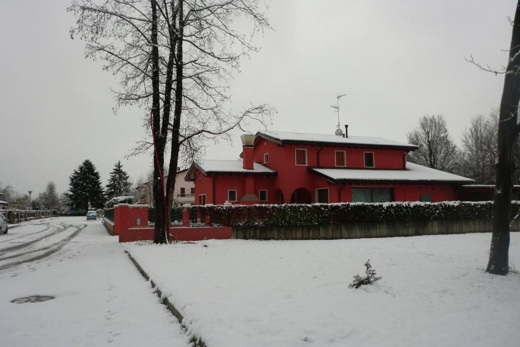 B&B Casa di Chiara during the winter