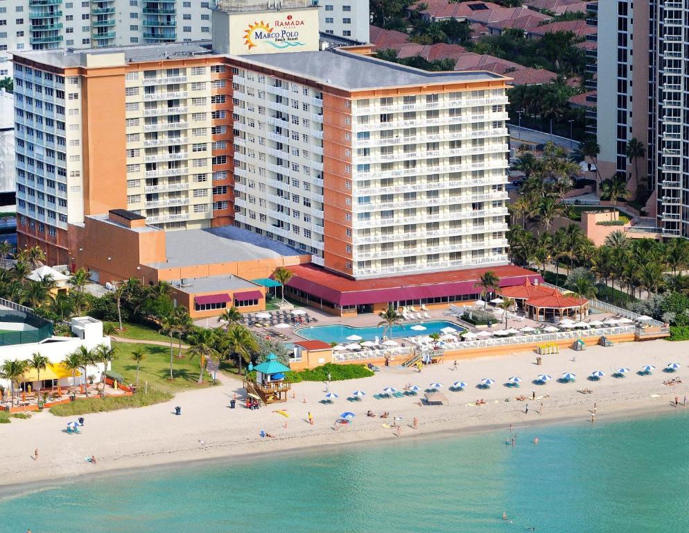 A bird's-eye view of Ramada Plaza by Wyndham Marco Polo Beach Resort