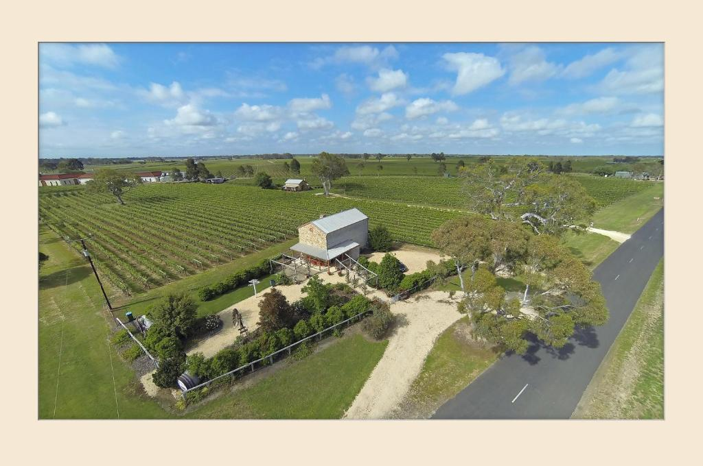 A bird's-eye view of Highbank Country Accommodation