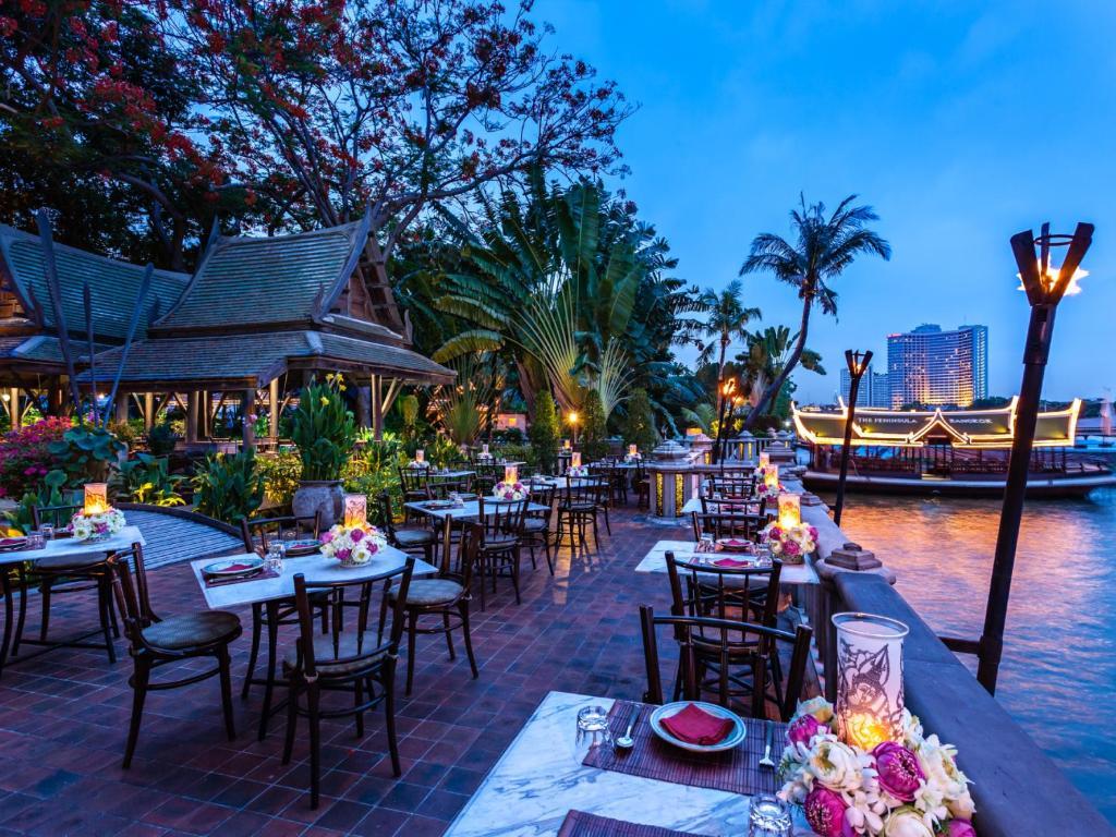曼谷半島酒店餐廳或用餐的地方