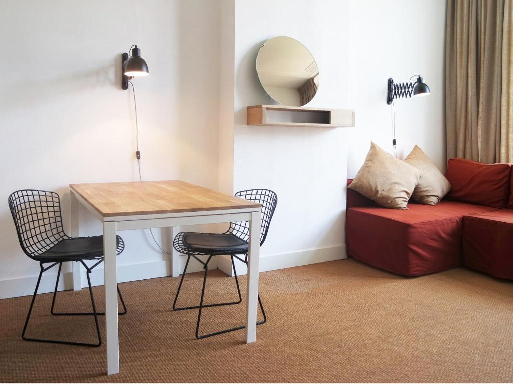 Zona de estar de Alberti - Bed & Bike