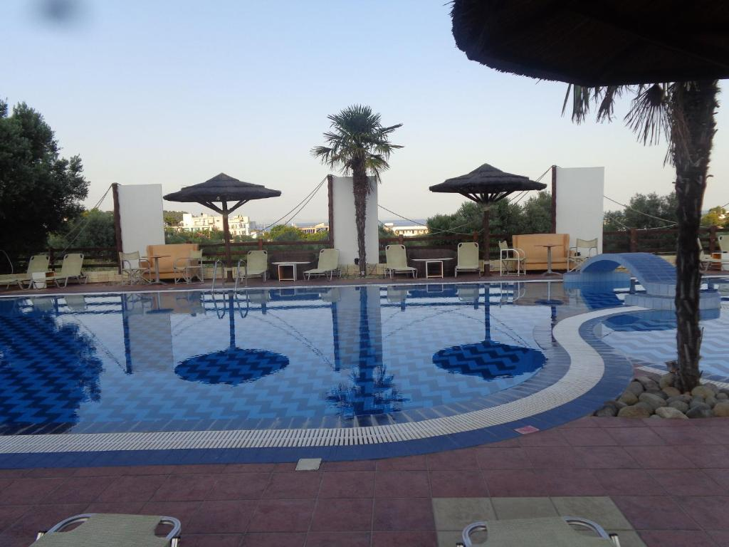 The swimming pool at or near Angela Hotel