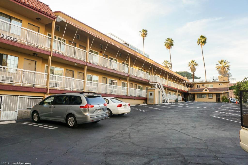 O edifício em que o motel americano se localiza
