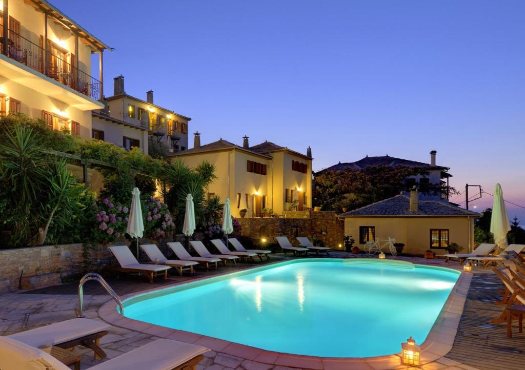 The swimming pool at or near Agapitos Villas & Guesthouses
