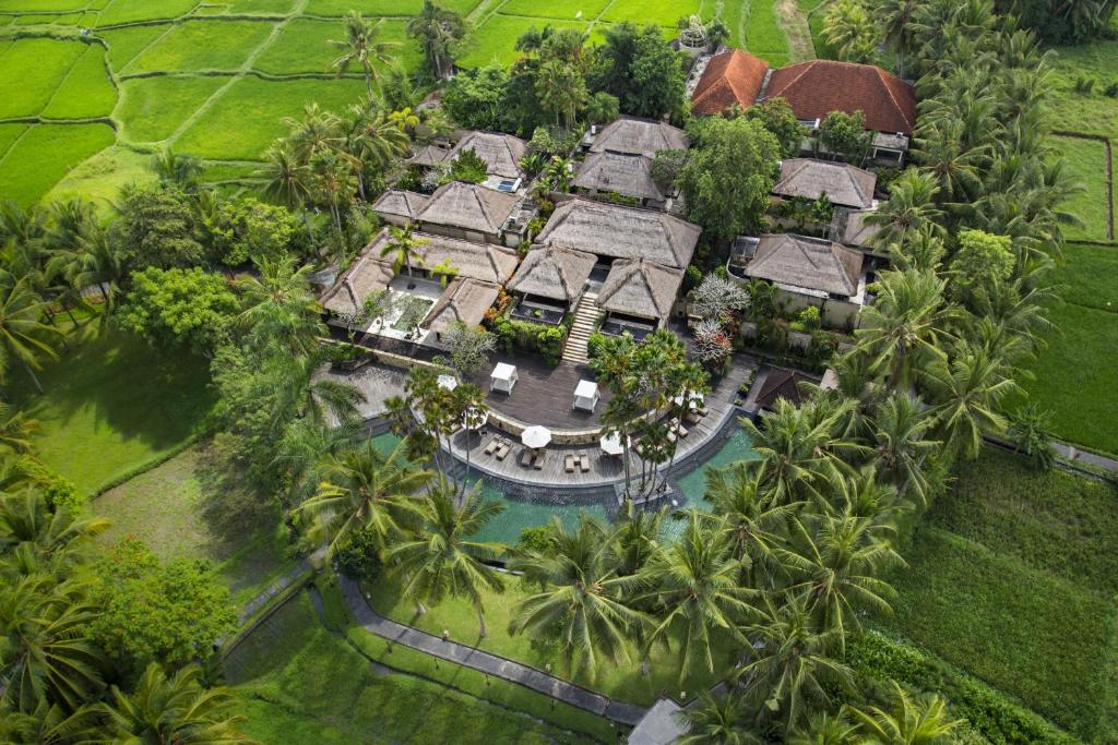 A bird's-eye view of The Ubud Village Resort & Spa