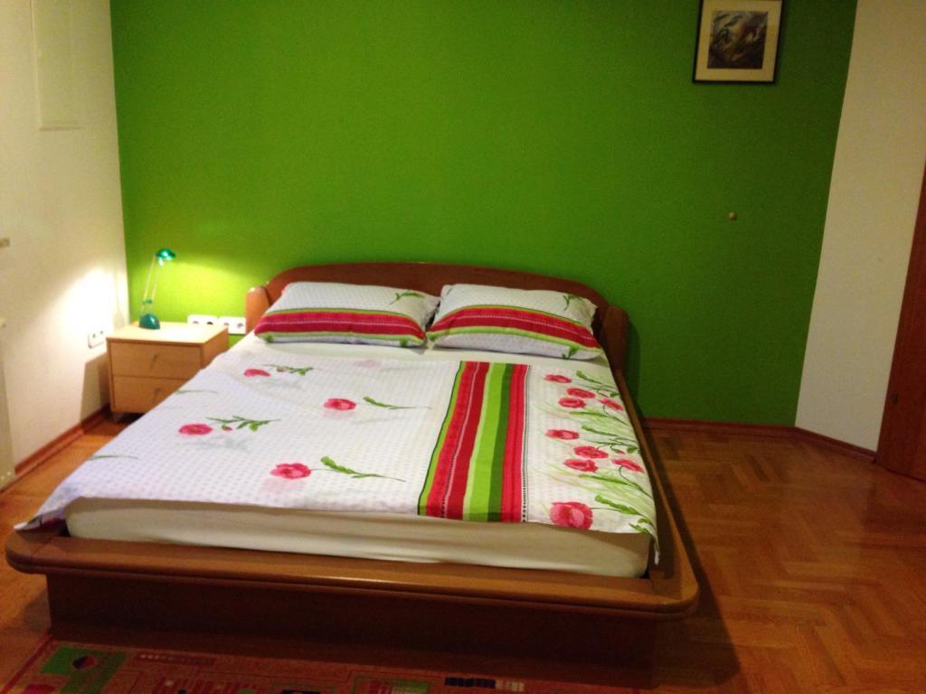 Кровать или кровати в номере Guest House Šeperić