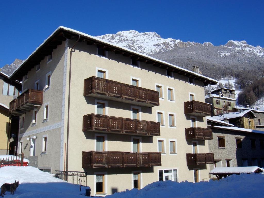 Casa Stefano E Lucia during the winter