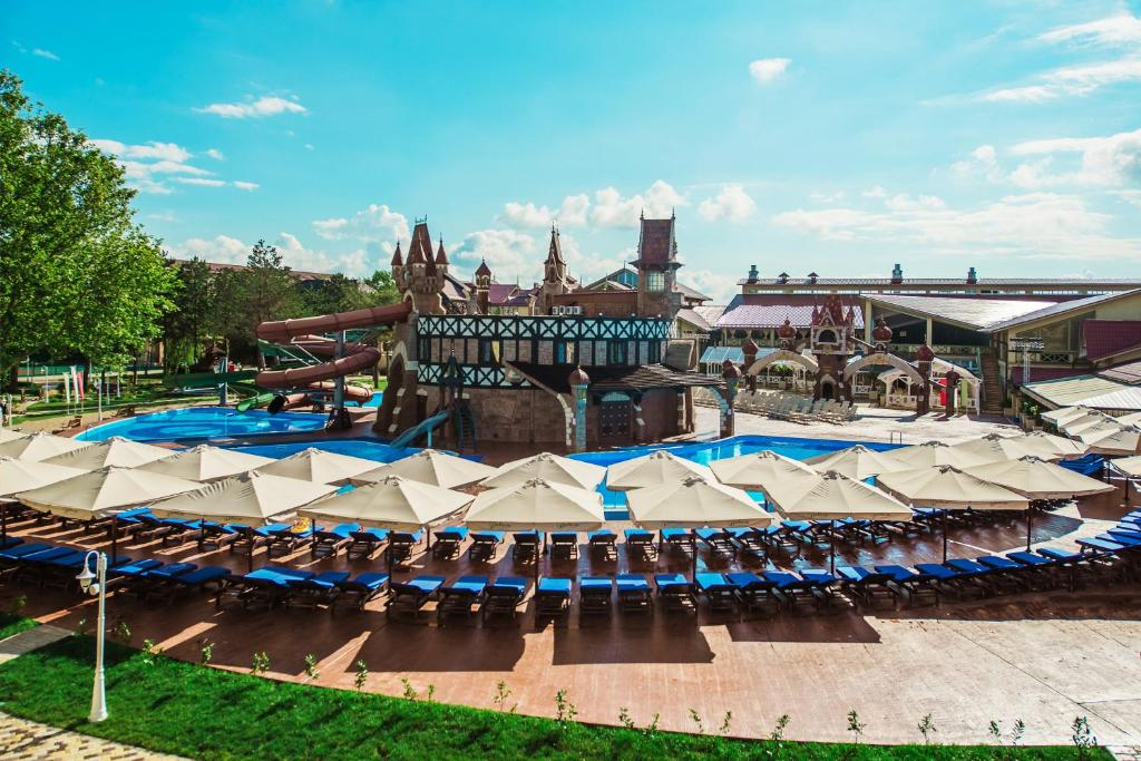 The swimming pool at or close to Alean Family Resort & SPA Doville 5* Ultra All Inclusive