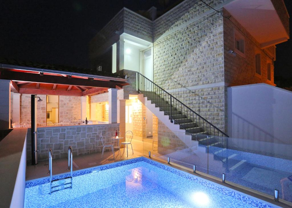 The swimming pool at or near Boutique Hostel Alegria