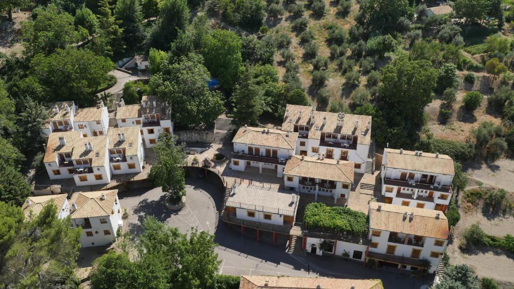 A bird's-eye view of Villa Turística de Cazorla