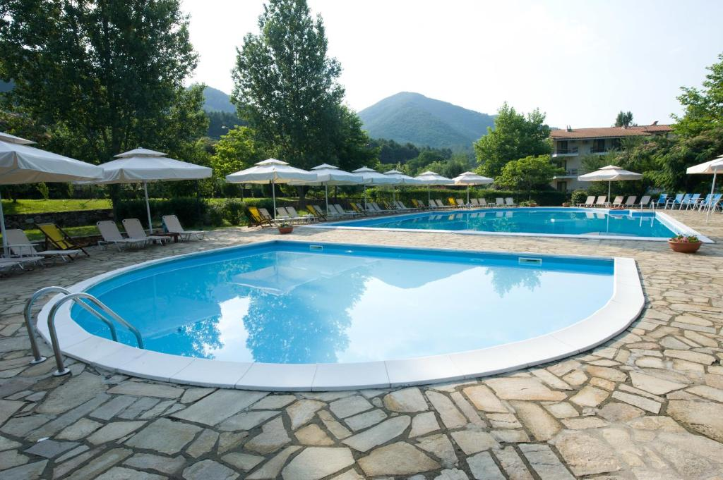 The swimming pool at or close to Agriani Hotel