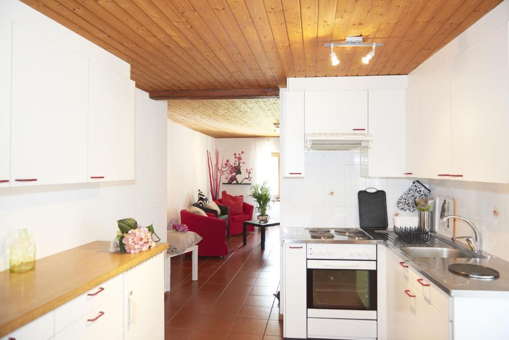 Küche/Küchenzeile in der Unterkunft Cèc & Evita
