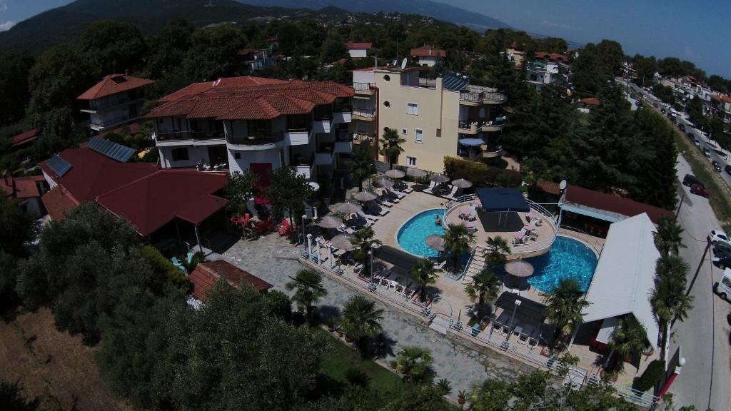 Άποψη από ψηλά του Hotel Niko Paradise
