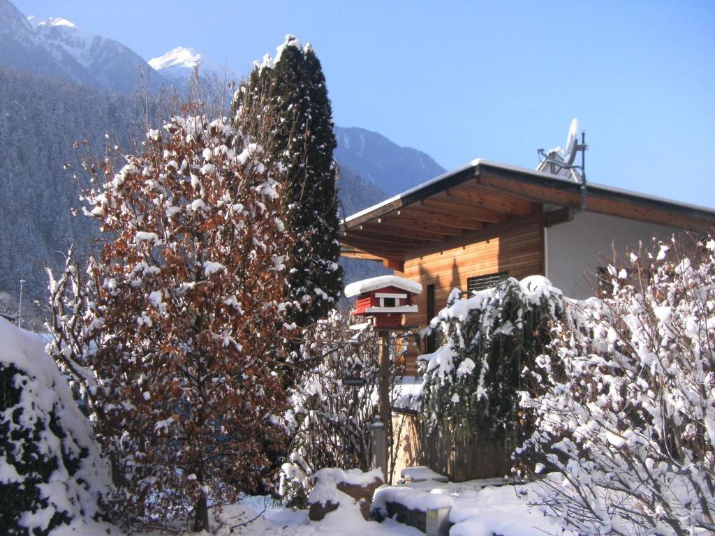 Pension Garni Gerhard during the winter
