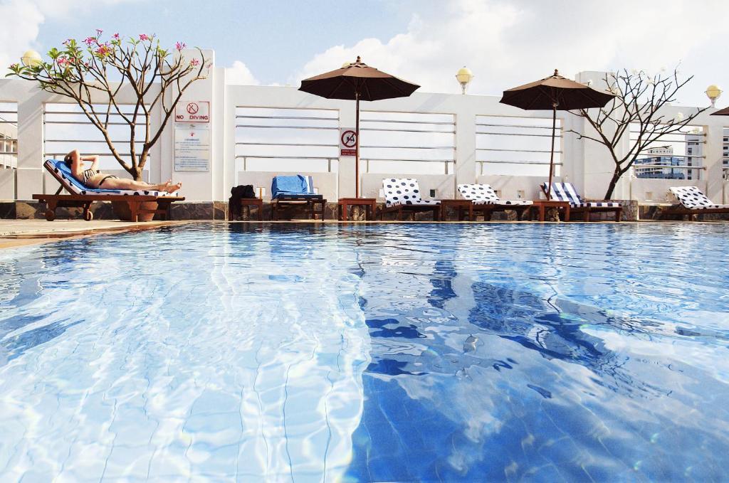 المسبح في فندق زينيث سوكومفيت أو بالجوار