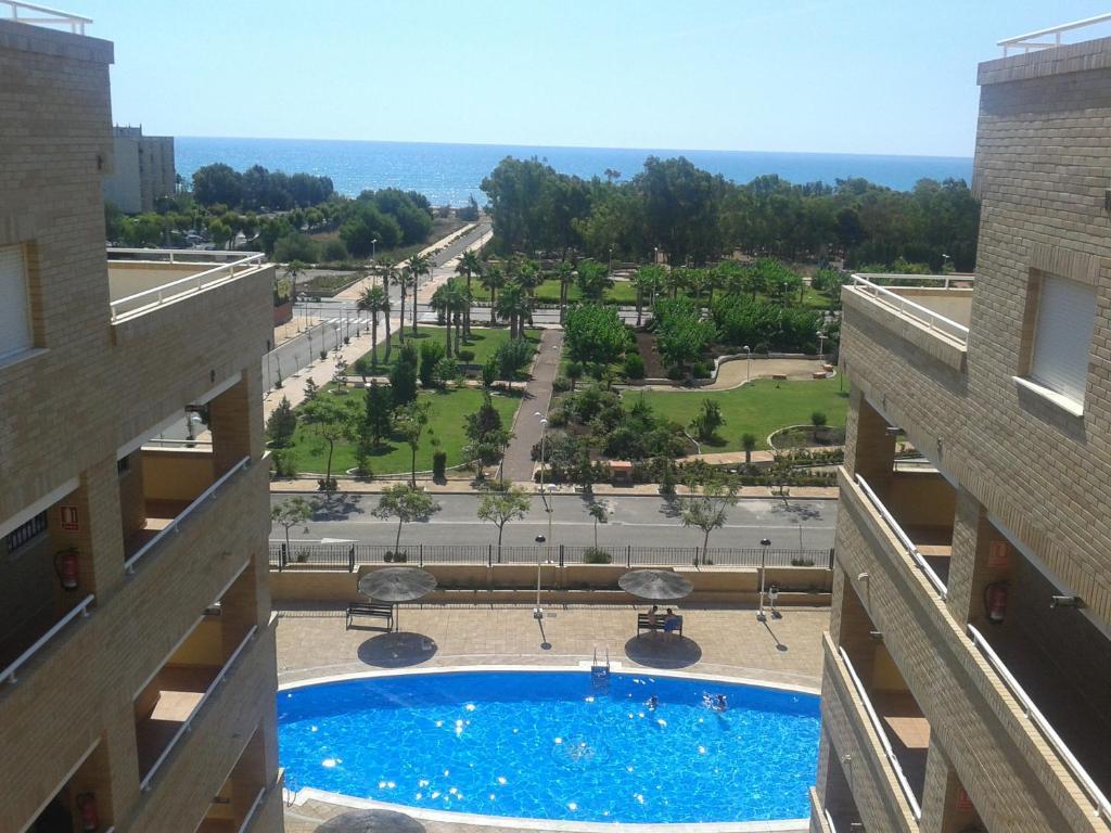 Vista de la piscina de Costa Azahar Apartments Beach o alrededores