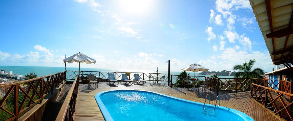 The swimming pool at or near Marsallis Praia Hotel