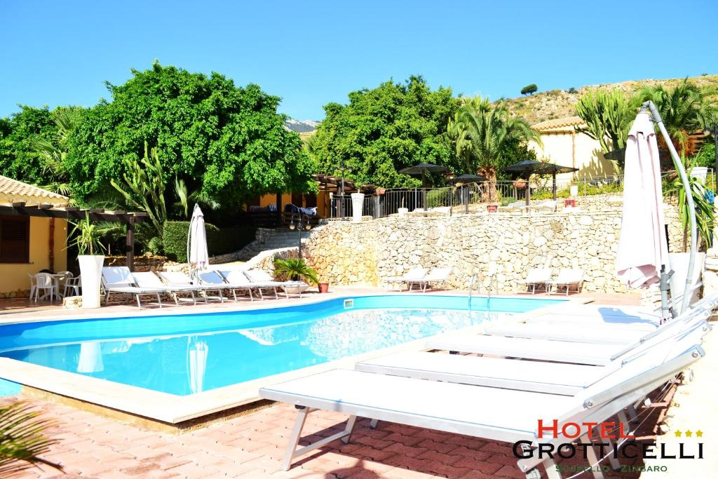 The swimming pool at or near Hotel Grotticelli