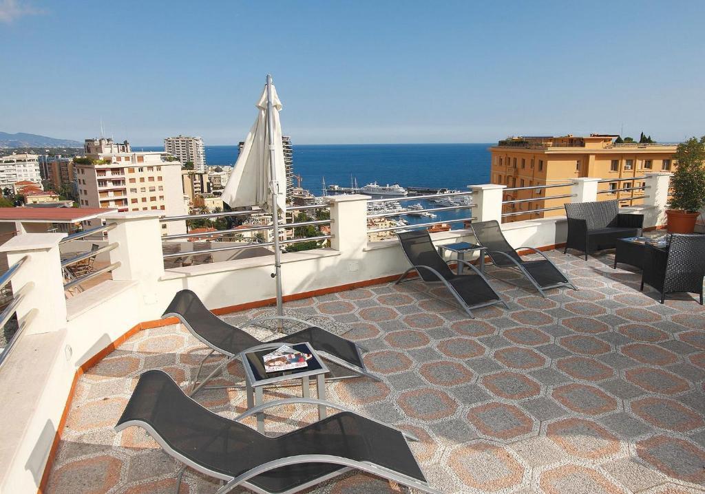 Un balcón o terraza de Hotel Restaurant Forum
