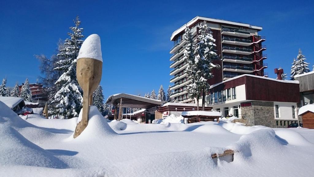 Grand Hotel Murgavets during the winter