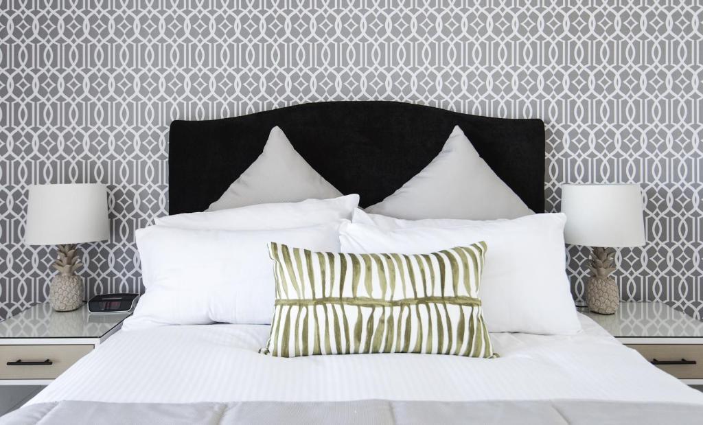 Ein Bett oder Betten in einem Zimmer der Unterkunft Riviera Mackay
